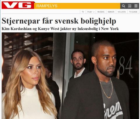 Stjernepar får svensk bolighjelp