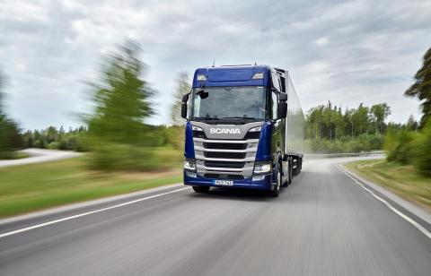 Scania R 540 - neuer 540-PS-Motor ergänzt die 13-Liter-Motorenbaureihe