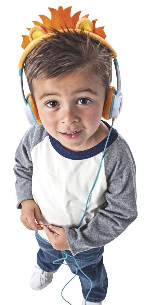 Lasten kuulokkeet Zagg Little Rockerz Costume