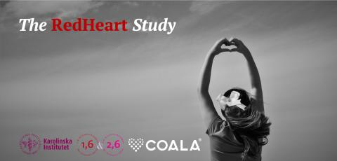 First results from The RedHeart Study presented at the Swedish Cardiovascular Spring Meeting