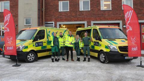 Falck is now the largest ambulance operator in Stockholm