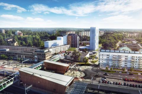 HSB bygger hållbart för unga i Kallhäll