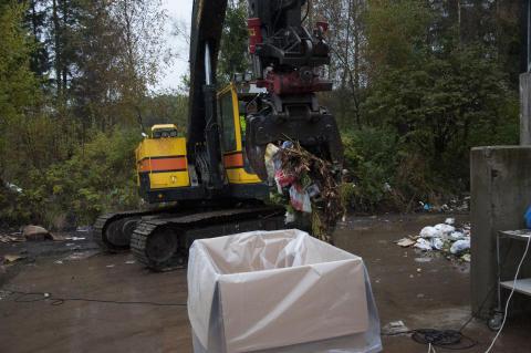 Vad slänger Lidköpingsborna i soporna?