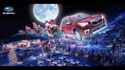 God Jul önskar Subaru Nordic