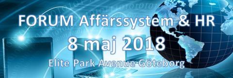 Välkommen till Sveriges största konferens och utställning av Affärs-, HR- och Lönesystem