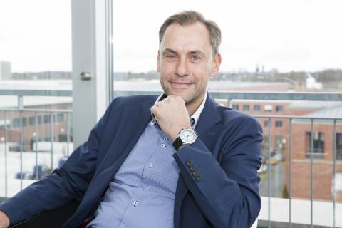 Dr. Hans-Jörg Gidlewitz, Geschäftsführer der Fressnapf-Gruppe