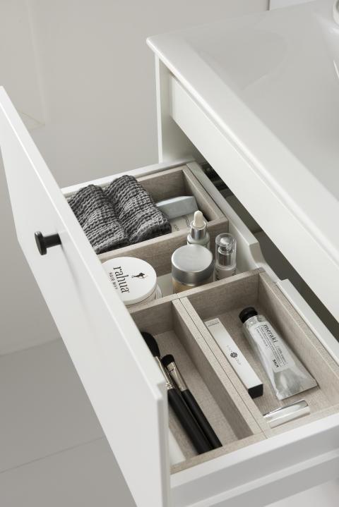 IDO Elegant -alalaatikko ja laatikonjakaja
