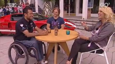 David Owe og Jason Watt i Go' Aften Danmark