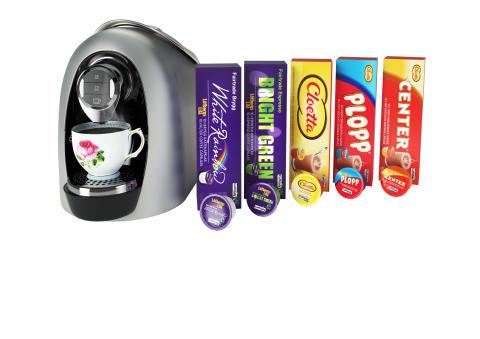Fairtrade- och chokladkapslar från Löfbergs Lila