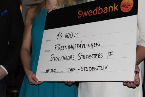 SSIF vinnare i föreningstävling
