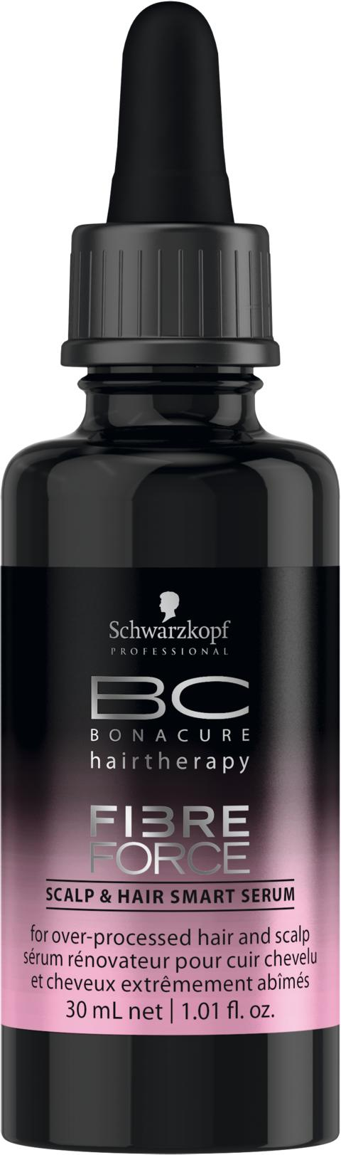 Schwarzkopt Professional BC Fibre Force - Scalp & Hair Smart Serum