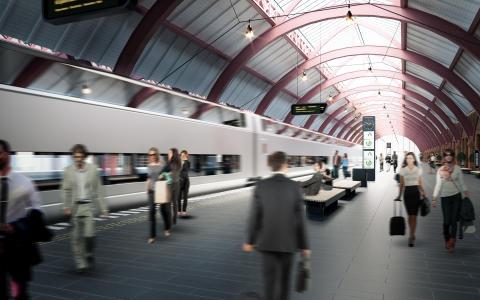 Investering i nya tåg med resenären i fokus