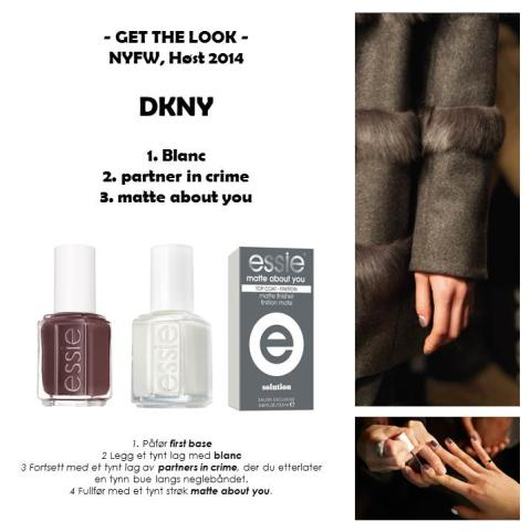 Get the look - DKNY