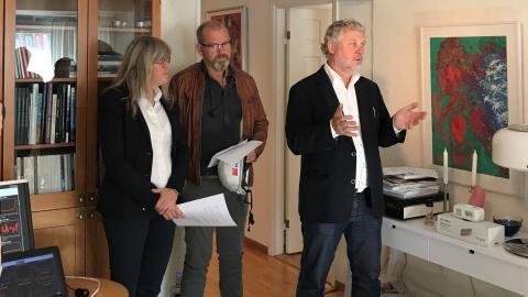 Peter Eriksson Britta Permats