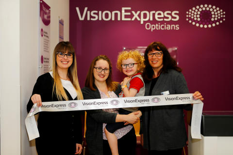 Dover youngster opens new optician after Vision Express helped him see clearly for the first time