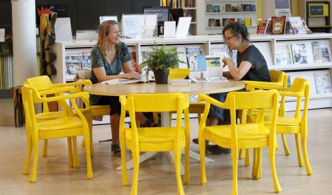 Vallentuna kommun får 750 000 kr för att fler ska få ta del av biblioteket!