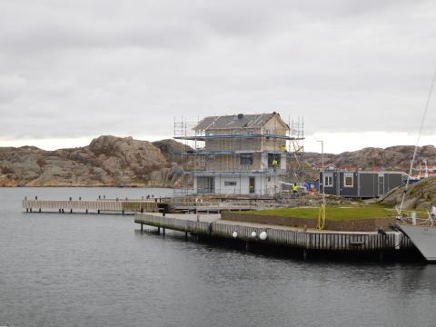 Cembrit Windstopper Extreme klarar 12 månader utan fasad