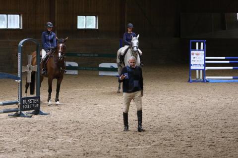 Legendaren George Morris kommer tillbaka till Runsten Equestrian