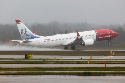 Norwegian's 737 MAX