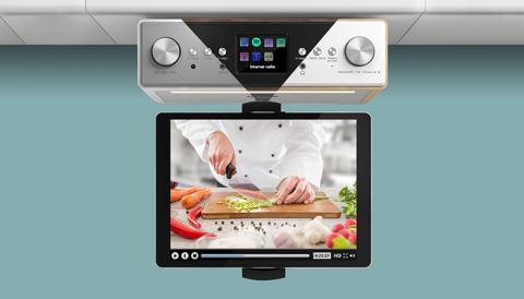 auna Connect Soundchef Küchenradio - Der digitale Fünf-Sterne-Koch