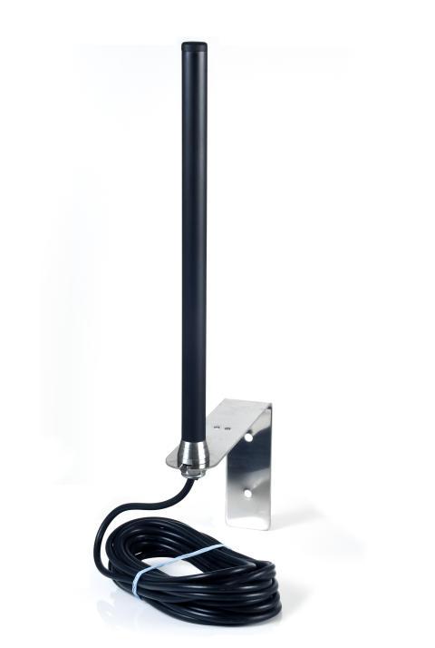 Antenn för fasadmontage