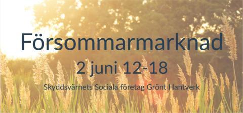 Försommarmarknad 2 juni
