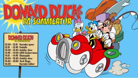 Etter mange års ventetid drar endelig Donald Duck & Co på sommertur!