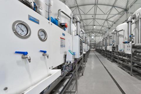 Klaipeda vattenreningsverk - Ett av europas mest avancerade anläggningar