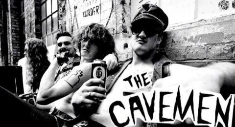THE CAVEMEN: London-Kiwi Cretins Drop Tour Bomb on Brazil, Mexico, USA