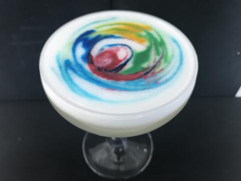 """Pride Cocktail """"Pride N´Glory"""" serveras på Clarion Hotel."""