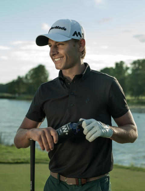 Vitamin Well signs promising golf star
