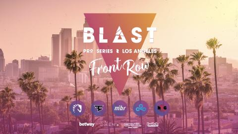 ​BLAST Pro Series LA introduce Front Row experience and Bo3 semifinals