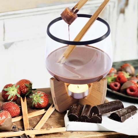 Chokladfondue-set