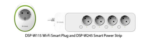 D-Link launches new Smart Plug and Power Strip with popular smart home platforms support