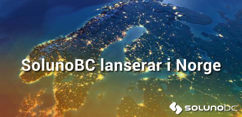 Telenor är operatör när SolunoBC lanserar i Norge