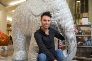 Celebrity Big Brother winner, Rylan Clark brings new spark to help save the Asian elephant