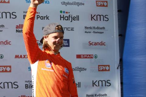 Scandinavian downhill hafjell  laksetrøye m-senior
