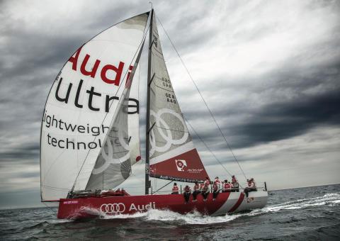 Audi på plats under Stena Match Cup Sweden