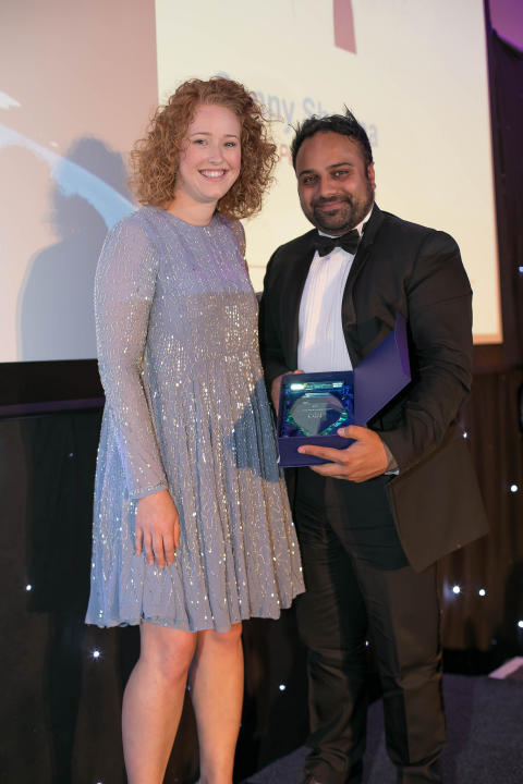 Sunny Sharma wins Institute of Directors award