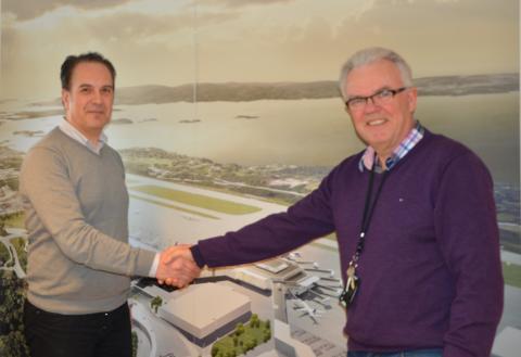 HENT AS tildelt kontrakt for innvendige arbeider på T3- ny flyterminal på Flesland