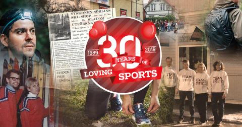 Team Sportia fyller 30 år!
