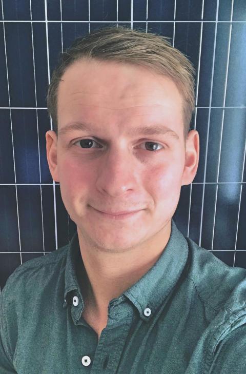 Olle Blandin ska få EnergiEngagemang att växa i väst