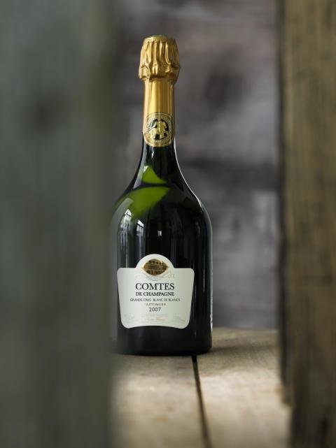 Premiär för Comtes de Champagne Grand Cru Blanc de Blancs 2007 i Sverige