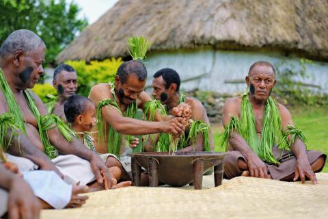 Fiji, kava-seremoni