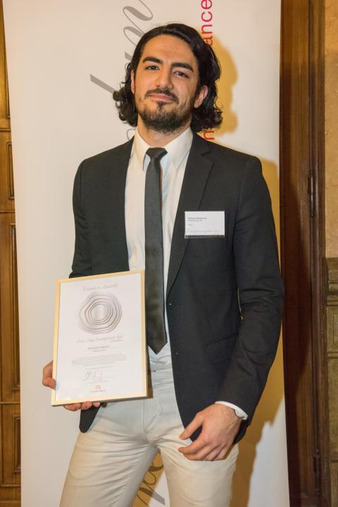 Orbital Systems grundare Mehrdad Mahdjoubi utsedd till Årets Unga Entreprenör Syd