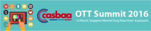 Xstream speaking at Casbaa OTT Summit in Singapore, March 1st