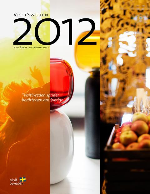 VisitSwedens årsredovisning 2012