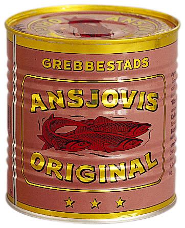 Grebbestads Ansjovisfiléer 860 g
