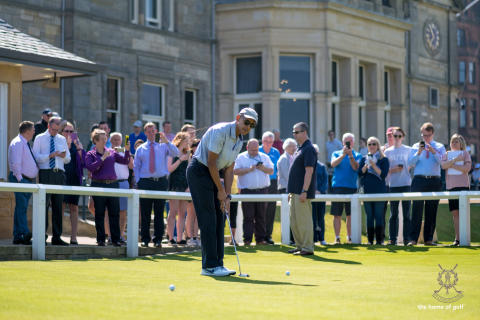 Old Course Inauguration