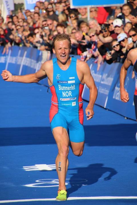 Fantastisk løping fra Kristian Blummenfelt sikret ny andreplass i World Triathlon Series (WTS)